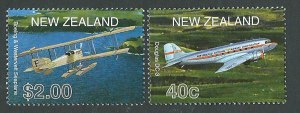 NZ-planes-DC3-and-seaplane