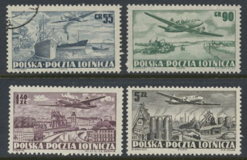 poland-set-of-4-1950